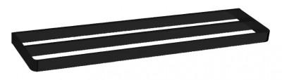 Waterevolution Deep dubbele handdoekhouder 60 cm mat zwart A212DPR