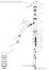 Waterevolution Flow wastafelkraan mat witT111BR