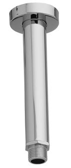 Zazzeri Douchearm plafondsteun 162 mm MAT ZWART 2900BR03A003131